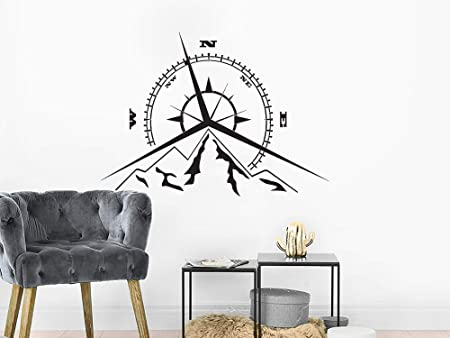 Tile Sticker Bathroom Kitchen Interior Home Decor Decals Captains Wheel   x 5