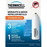 Thermacell Standard Refill Pack (Mats & Gas)