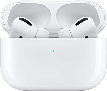 Apple AirPods Pro Adaptador e inversor de Corriente con estuche de carga inalámbrica, Blanco: Amazon.es: Electrónica