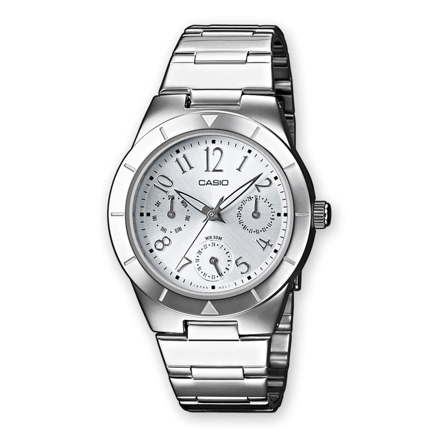 Amazon.com: Señoras reloj Casio ltp-2069d-2 a2vef: Watches