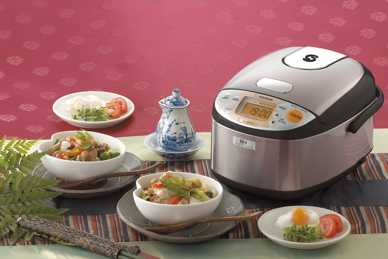 Zojirushi NP-GBC05XT Induction Heating System Rice Cooker and Warmer, 0.54 L, Stainless Dark Brown by Zojirushi