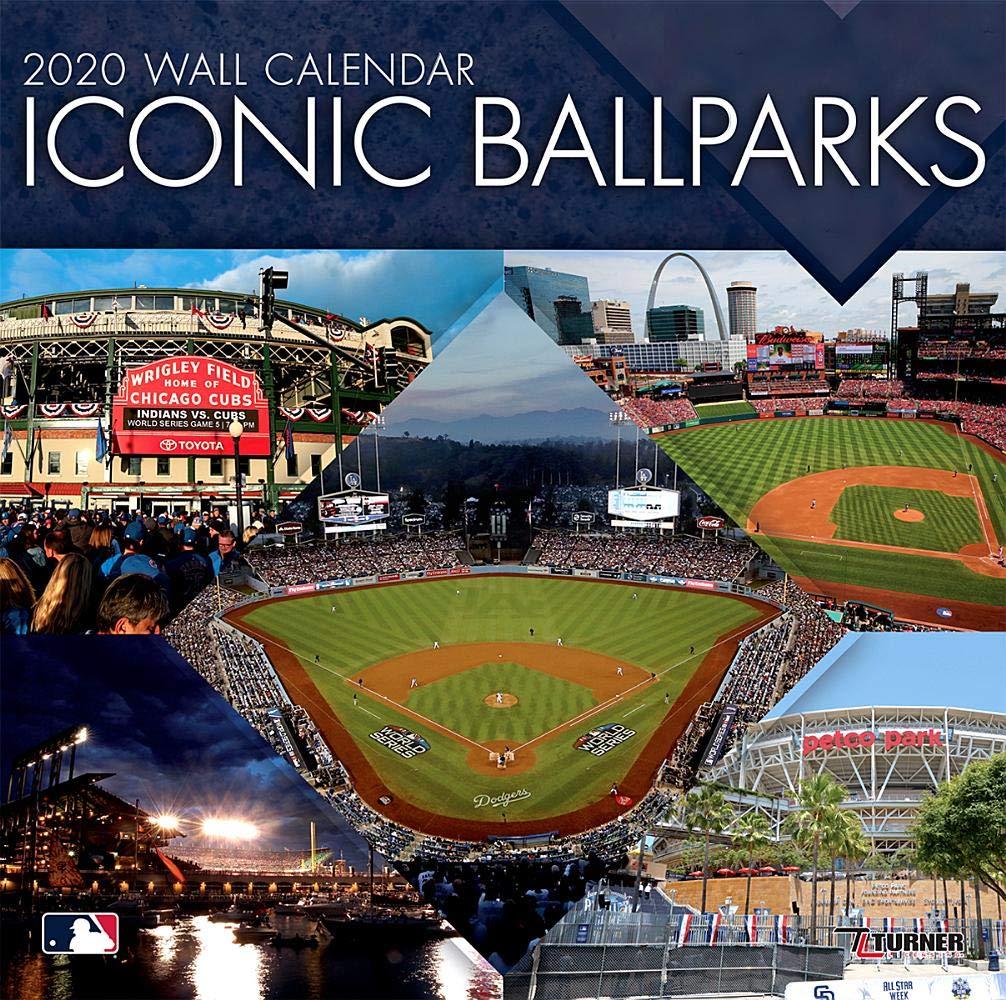 Mlb Calendar 2020 Mlb Iconic Ballparks 2020 Calendar: Inc. Lang Companies