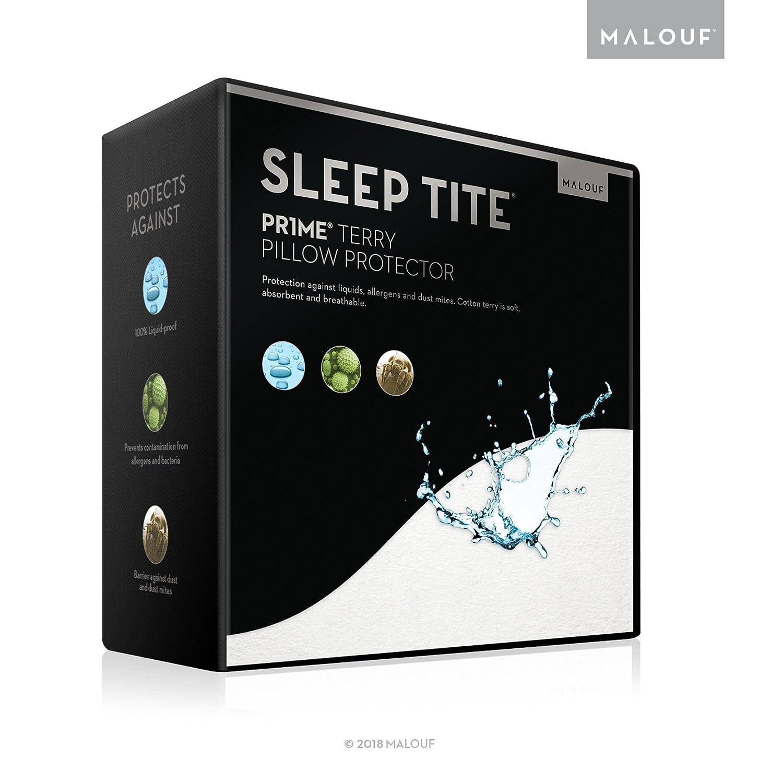 Sleep Tite by Malouf Hypoallergenic Pillow Protector, King, Set of 2 CVB Inc SL00KKPP