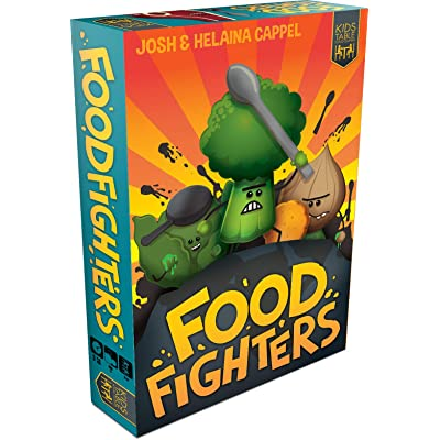 Food Fighters Board Game: Toys & Games