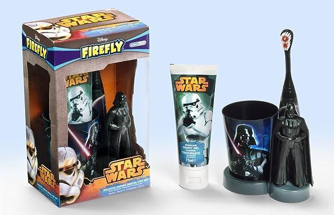 Coffret Star Wars, cepillo de dientes eléctrico + vaso + Dent: Amazon.es: Hogar