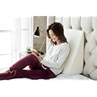 Brentwood Home Zuma Therapeutic Wedge Pillow, Helps with Sleep & Acid Reflux, 100%...