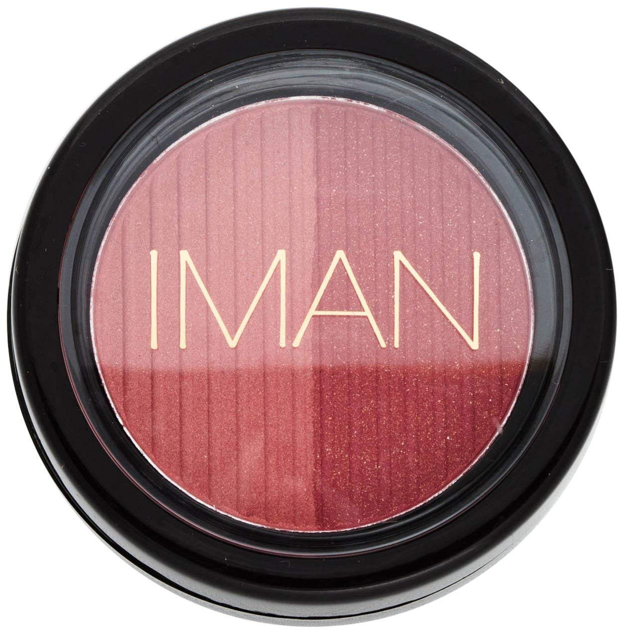 Iman Cosmetics Blushing Powder Posh Duo