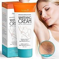 Underarm Whitening Cream,Lightening Cream Effective for Lightening & Brightening Armpit, Knees, Elbows, Sensitive & Private Areas, Whitens, Nourishes, Repairs & Restores Skin by Asavea