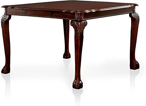Furniture of America Bonaventure Traditional Style Pub Dining Table