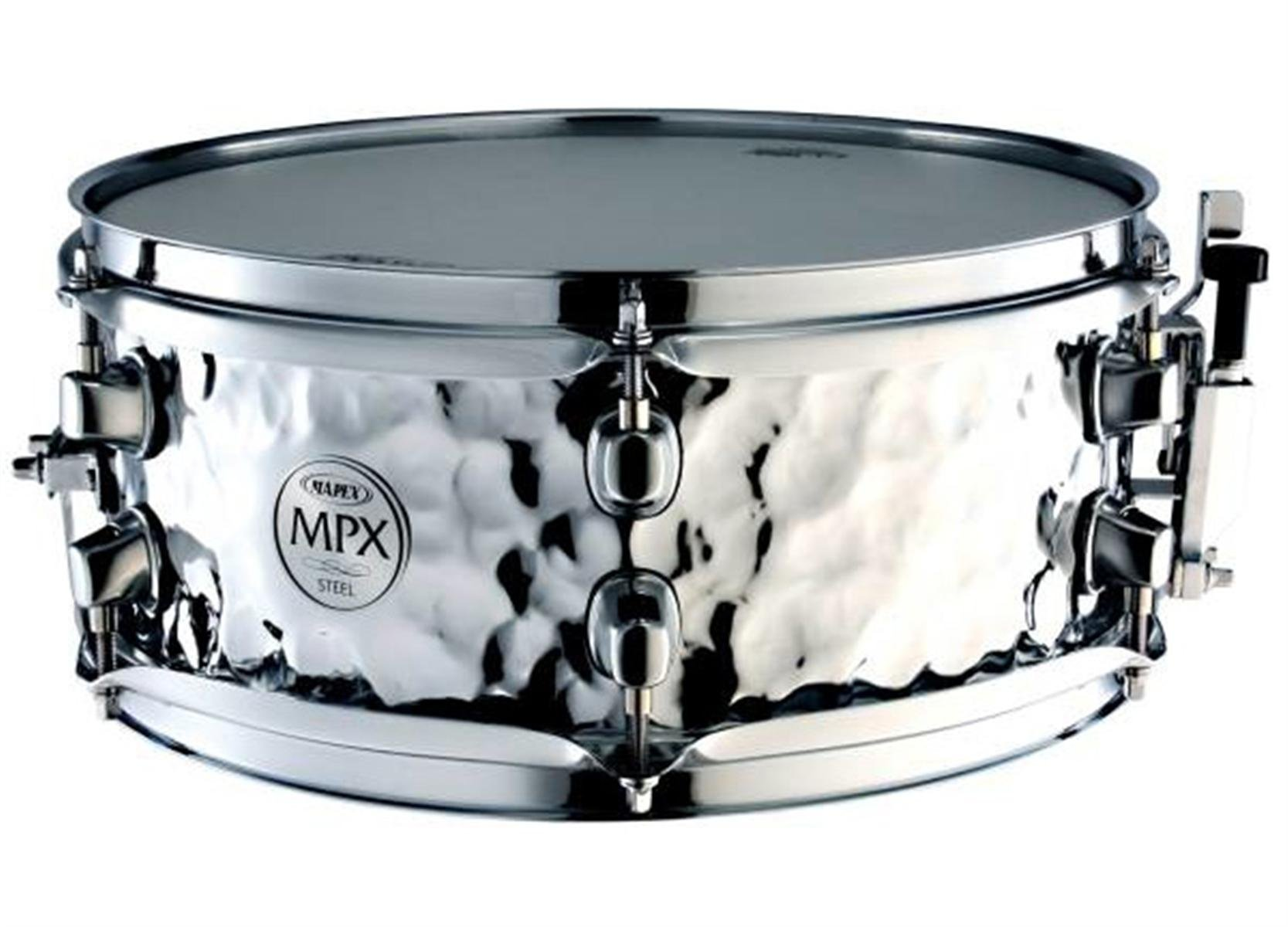MAPEX MPST4658H Mapex MPX 14'' x 6.5'' Hammered Steel Snare Drum