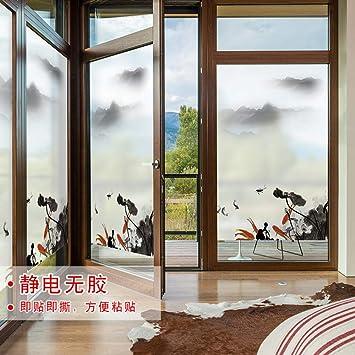 Pegatinas para ventanas adhesivas peeling de cristal moderno ...