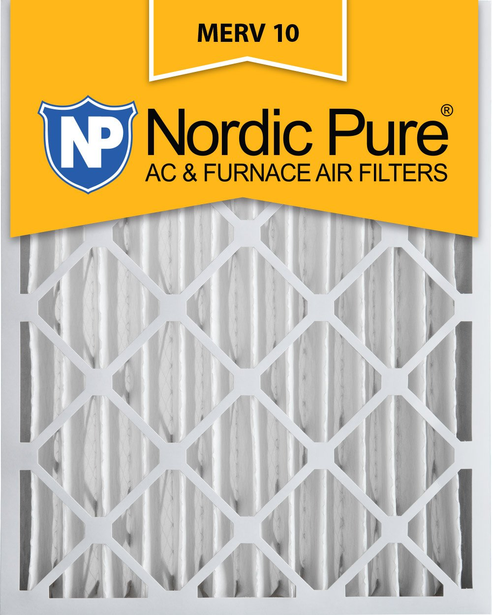 Nordic Pure 20x24x4 MERV 10 Pleated AC Furnace Air Filter, Box of 1 by Nordic Pure B006NWOIZW