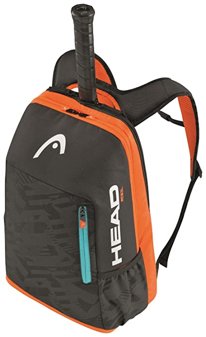 Head Rebel Bkor - Mochila de Tenis, Color Gris/Naranja / Azul