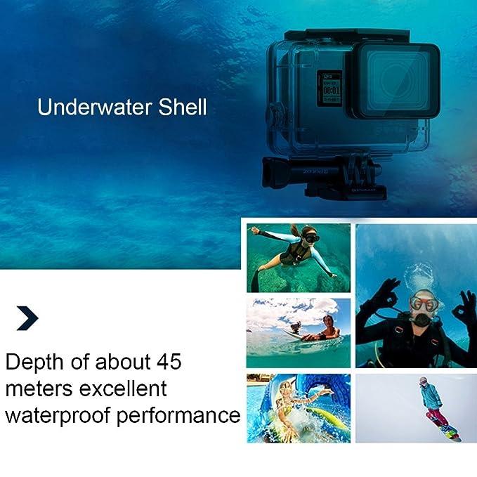 Kits Combo, PULUZ 23 en 1 kit combinado de accesorios de surf (funda de buceo + empuñadura de Bobber + esponja flotante + soporte de tabla de surf + correa ...