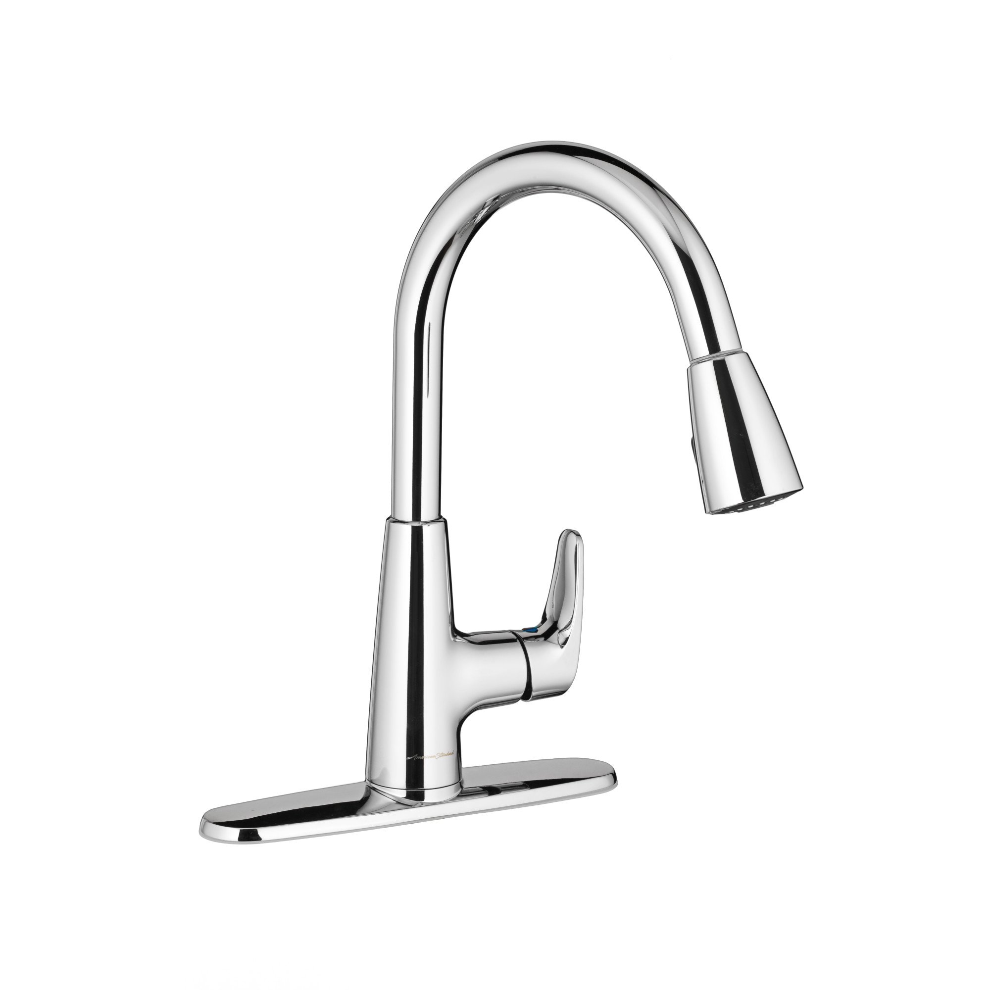 American Standard 7074300.002 Colony Pro Single-Handle Kitchen Faucet with Pull-Down Spray, Polished Chrome