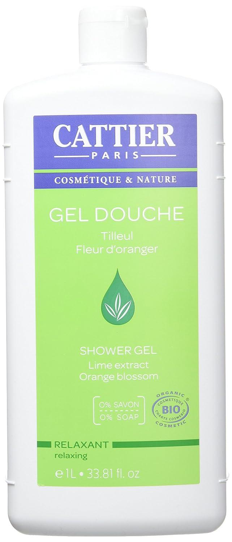 Cattier Gel Douche Relaxant Tilleul et Fleur d'Oranger 1 L CAT075
