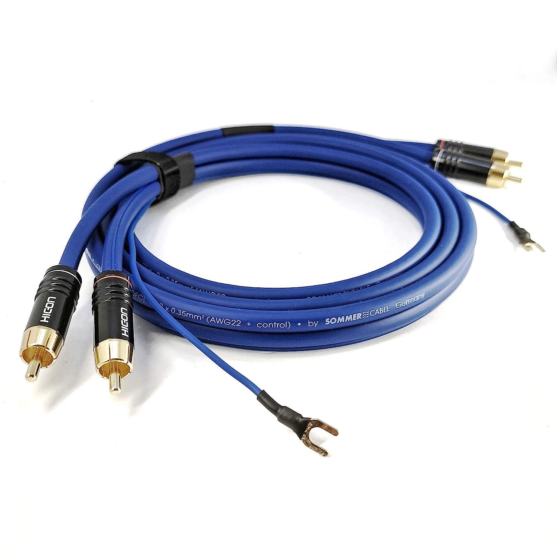 Cable de audio de 75 cm con cable de tierra extra largo ...
