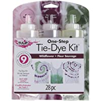 Tulip One-Step Tie-Dye Kit 3 Color Kit, Wildflower, DIY Tie Dye