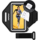 Mpow Phone Armband, Running Armband with Extra Space AirPods/Key Holder for iPhone 12 Pro/11 Pro Max/11/XR/XS/X/8…