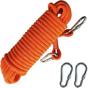 DAOUD - Cuerda para Escalada de Rock, 20 m, 12 mm de diámetro ...