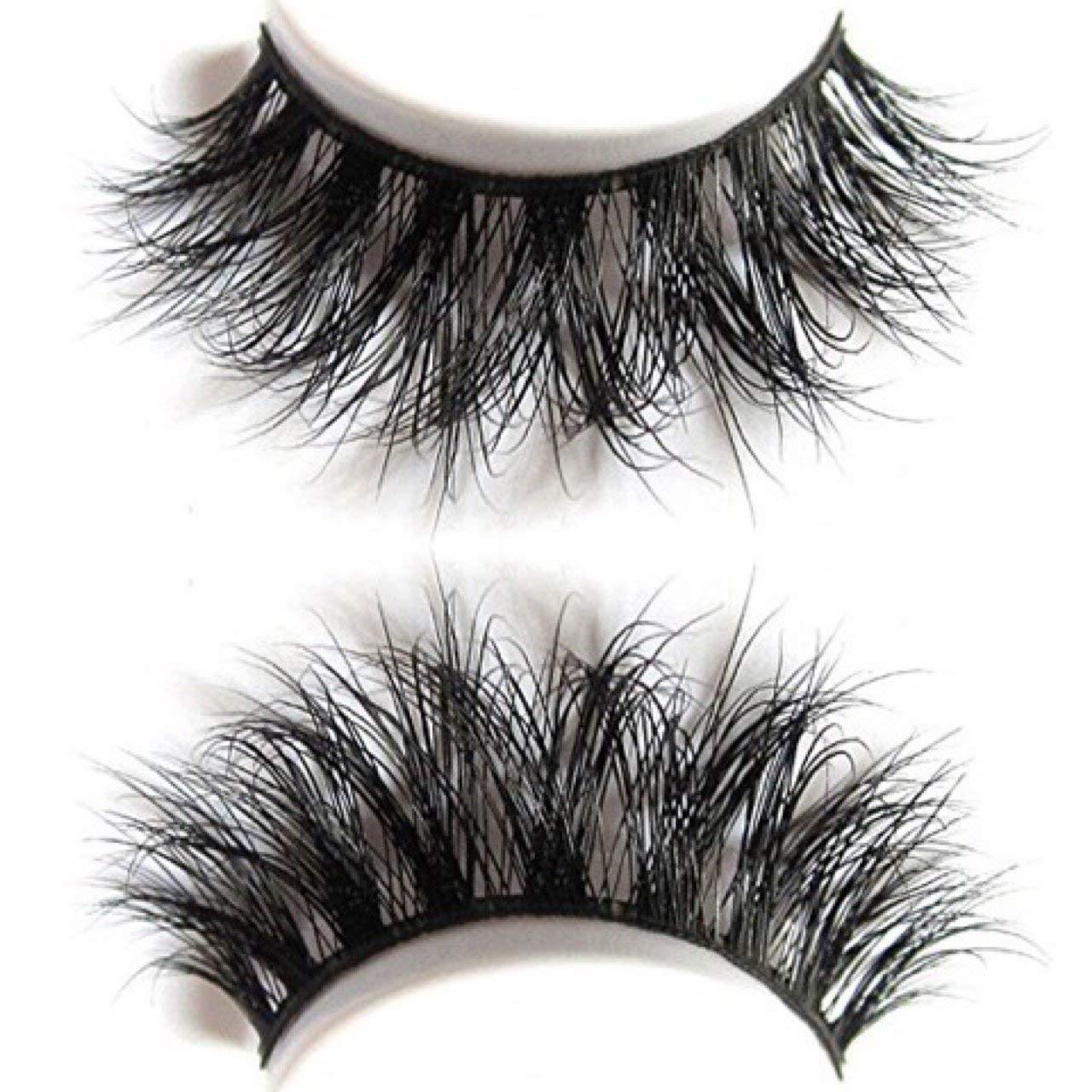 4d51a42bbcd Amazon.com : Plushe 3D mink 100% Siberian Mink Fur Hand-made Makeup false  Strip Lashes : Beauty