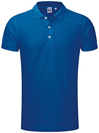 Stretch Polo Russell Hombre - 10 Colores / Sml - 3XL - Light ...