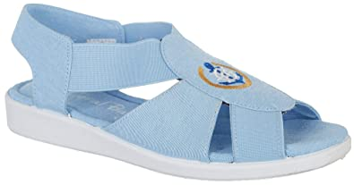 3f47dac80 Coral Bay Womens Maggie Embroidered Anchor Casual Sandals 5 Chambray Anchor