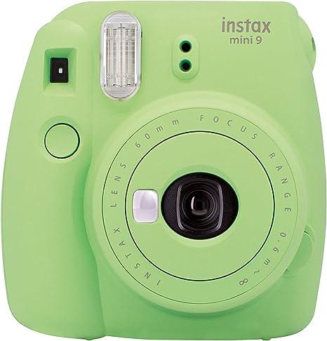 Fujifilm Instax Mini 9 - Cámara instantánea, Solo cámara, Verde: Amazon.es: Electrónica