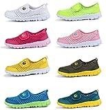 Femizee Kids Athletic Shoes Boys Girls Light-Weight Sneakers for Running Walking Beach,Dark Green 2.5 M US Little Kid