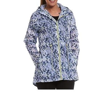 cf635d6c928 Womens Ladies Girls Rain Jacket Mac Fishtail Raincoat Kagool Parka Festival  Coat  Amazon.co.uk  Clothing