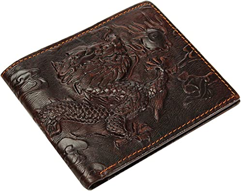 BIFOLD WALLET L SHAPE NEW BROWN GENUINE LEATHER RARE GIFT IDEA FREE SHIPPING