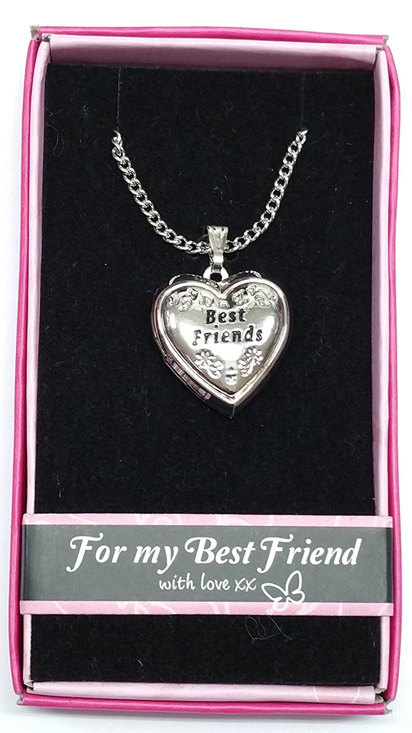 best split heart jewelry necklace forever bling lockets pbx sterling az set friends uec friend