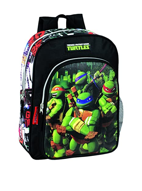 1b896eea40f ilshopping Kindergarten Ninja Turtles Backpack 015184: Amazon.in: Shoes &  Handbags