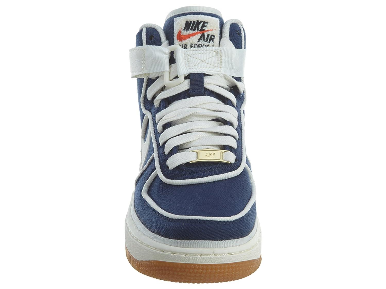NIKE Air Force 1 1 1 High '07 GS Big Kid's Basketball schuhe Binary Blau, 4 138bf4