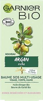 Garnier Bio - Baume SOS Multi-Usage - Argan Riche - Zones ...