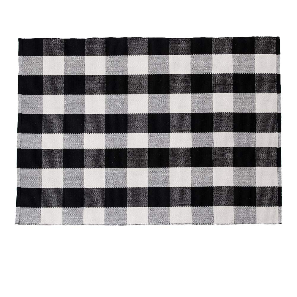 SHACOS Large Cotton Area Rug 4