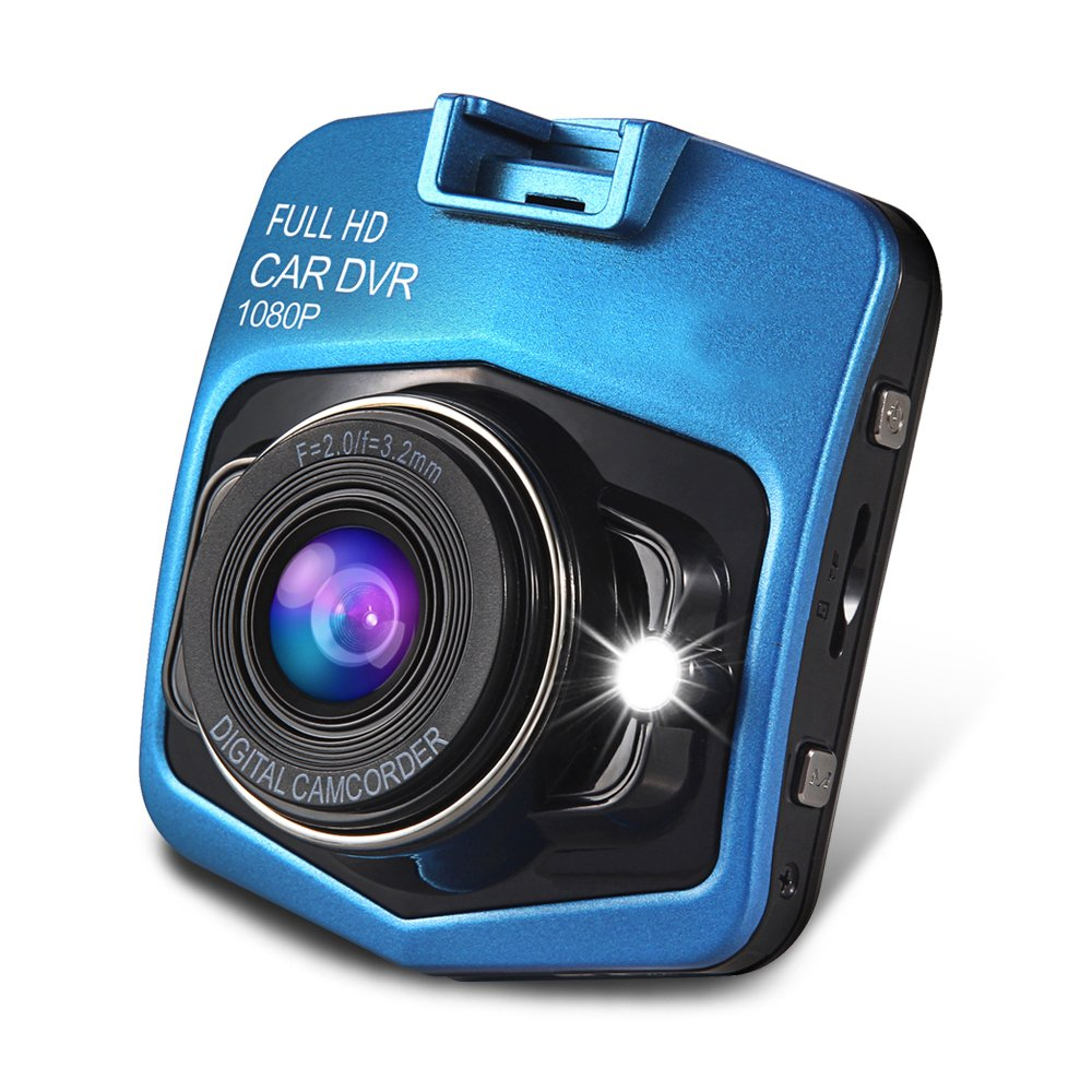Camecho® Mini GT300 A8 Car DVR Camera full HD 1080p Recorder Video Registrator Night Vision Box Carcam (blue) CAR DVR -P0157BK