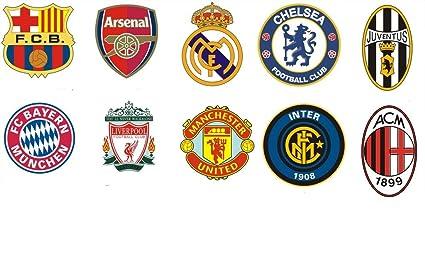 Fútbol ligas Logo de punto de cruz, diseño de, hilos de algodón de Egipto