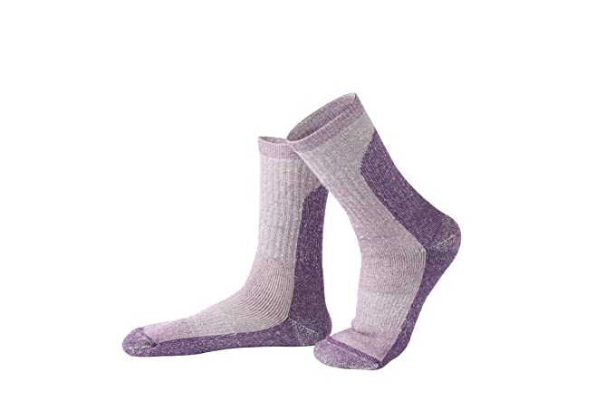 Daesar Calcetines Lana Calcetines de Senderismo Calcetines Unisex Calcetines Otoño e Invierno Calcetines de Senderismo A