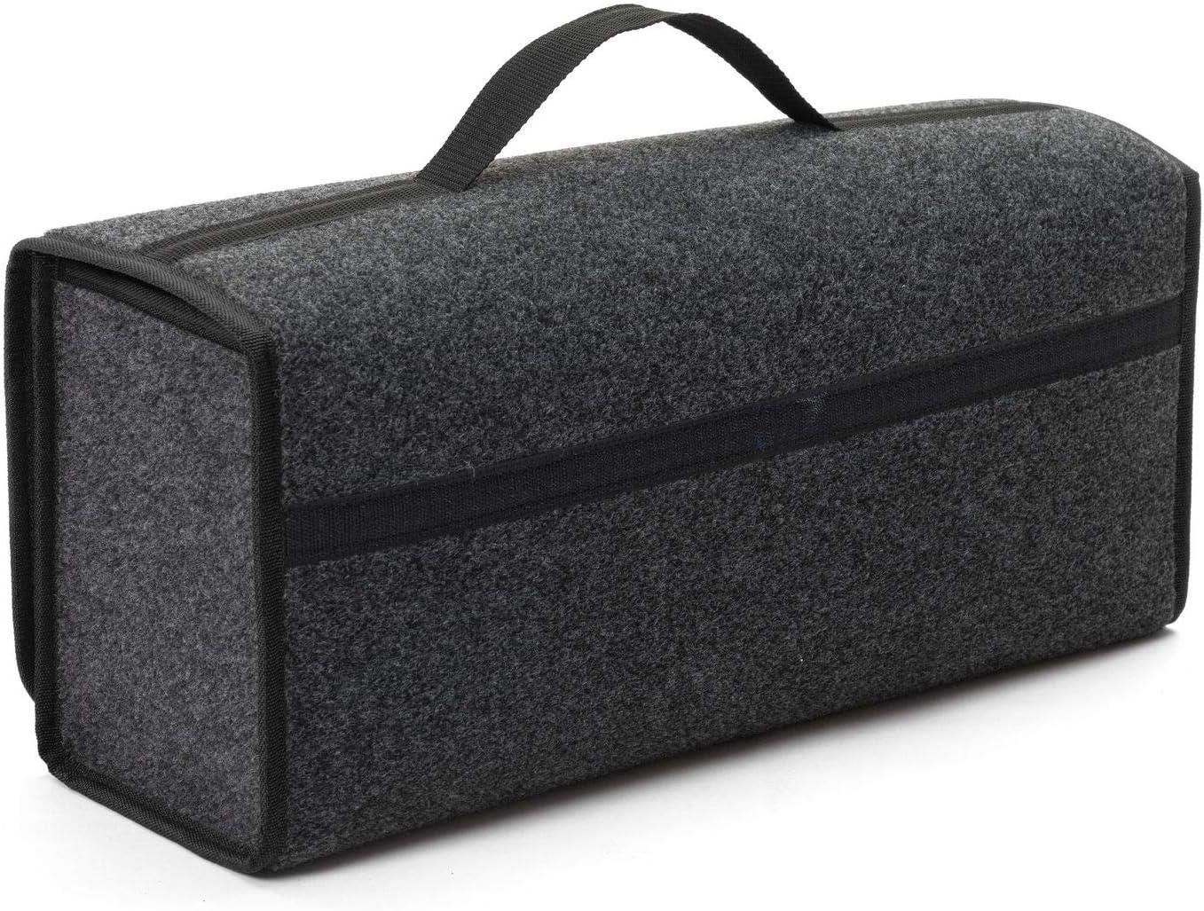 EJP F/ür A3 Kofferraumtasche Organizer Werkzeugtasche Autotasche Tragf/ähigkeit bis 20 kg in h/öchster Qualit/ät Versand ab Sofort. Farbe Grau mit schwarzen Lamellen