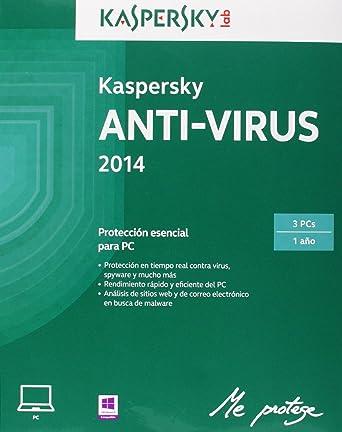 Kaspersky - Antivirus 2014, 3 Usuarios: Amazon.es: Software