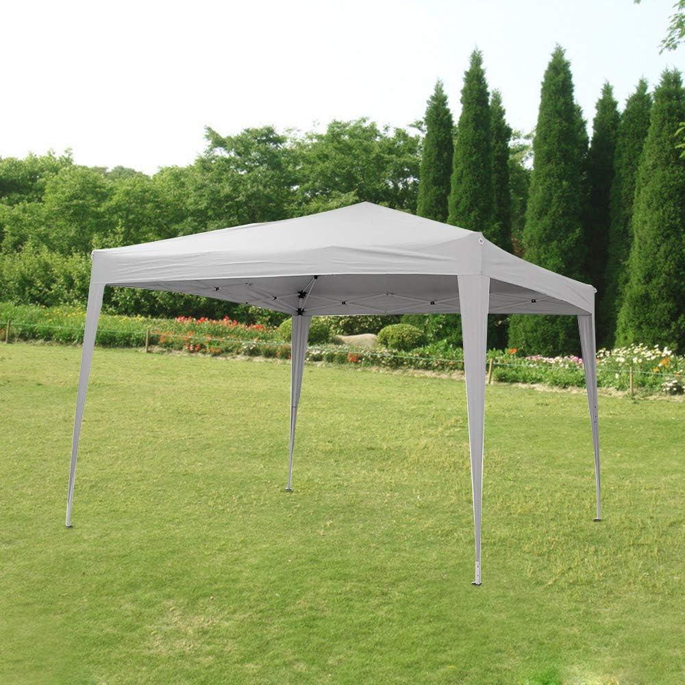 Cenador Plegable Impermeable, Cenadores para Jardin, Gazebo Plegable Impermeable 2m, 2.5m en 3m (3 x 3 m, Blanco): Amazon.es: Jardín