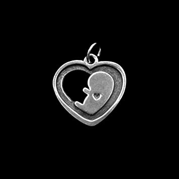 Amazon baby in my heart charm memorial keepsake gift baby in my heart charm memorial keepsake gift miscarriage pregnancy loss aloadofball Choice Image
