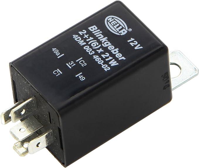 Hella 4dm 003 460 021 Blinkgeber 12v 5 Polig Anbau Elektronisch Mit Halter Auto