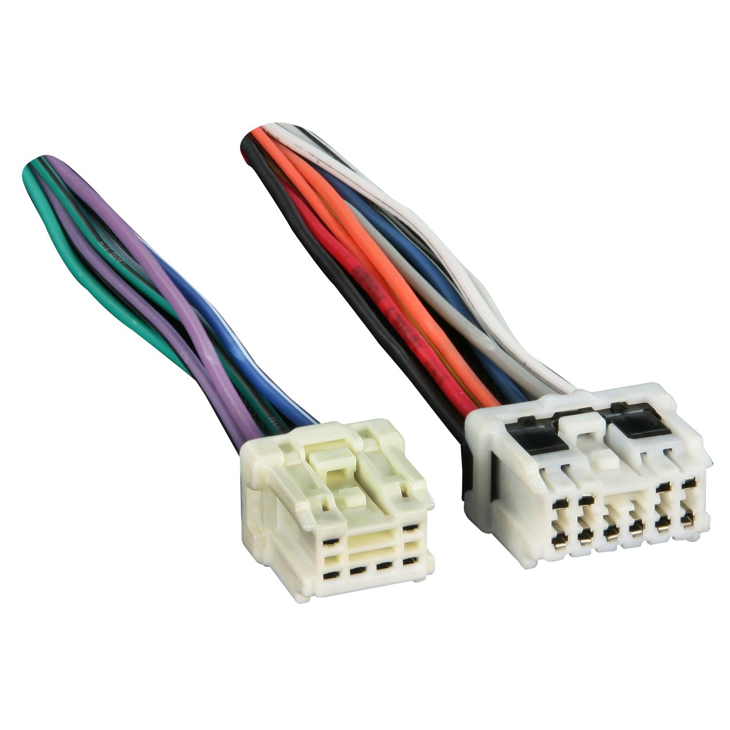 71zoJZaQUdL._SL1500_ amazon com metra reverse wiring harness 71 7550 for select 1995 best buy radio wire harness at metegol.co