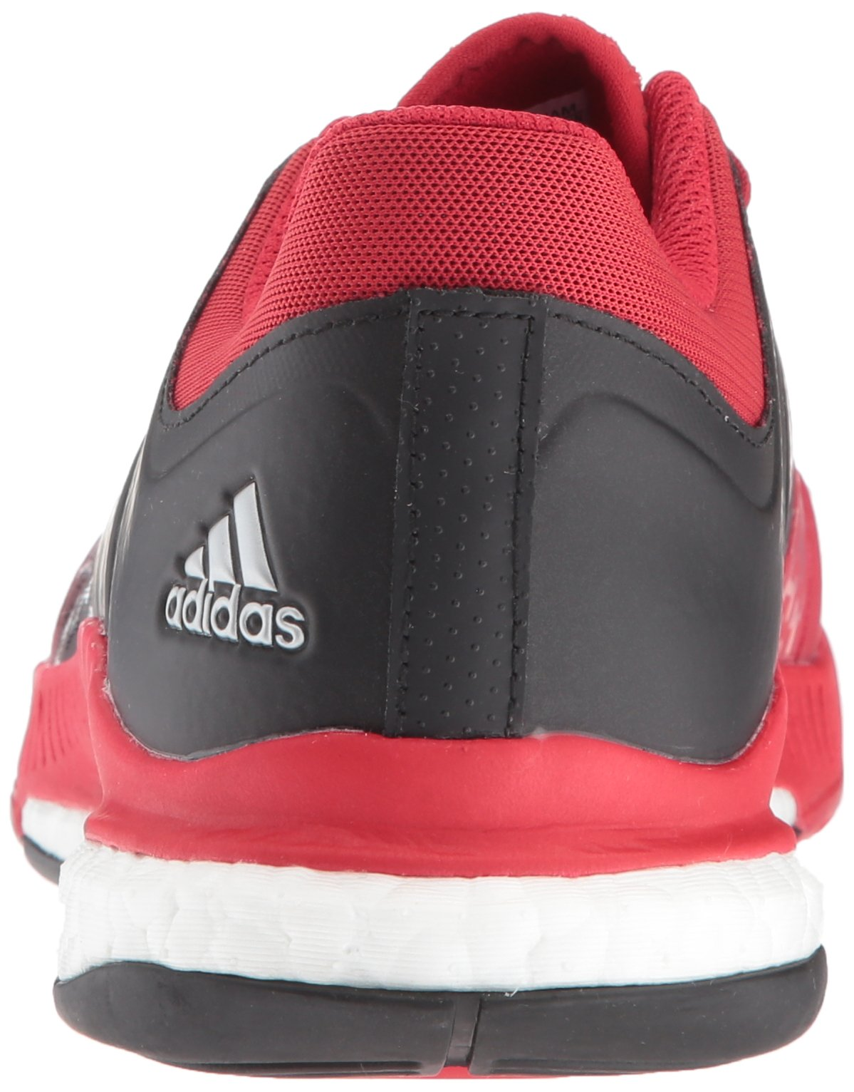 Adidas Women's Shoes Crazyflight X Volleyball Shoe Black/Metallic Silver/Power Red,7.5 by adidas Originals (Image #2)