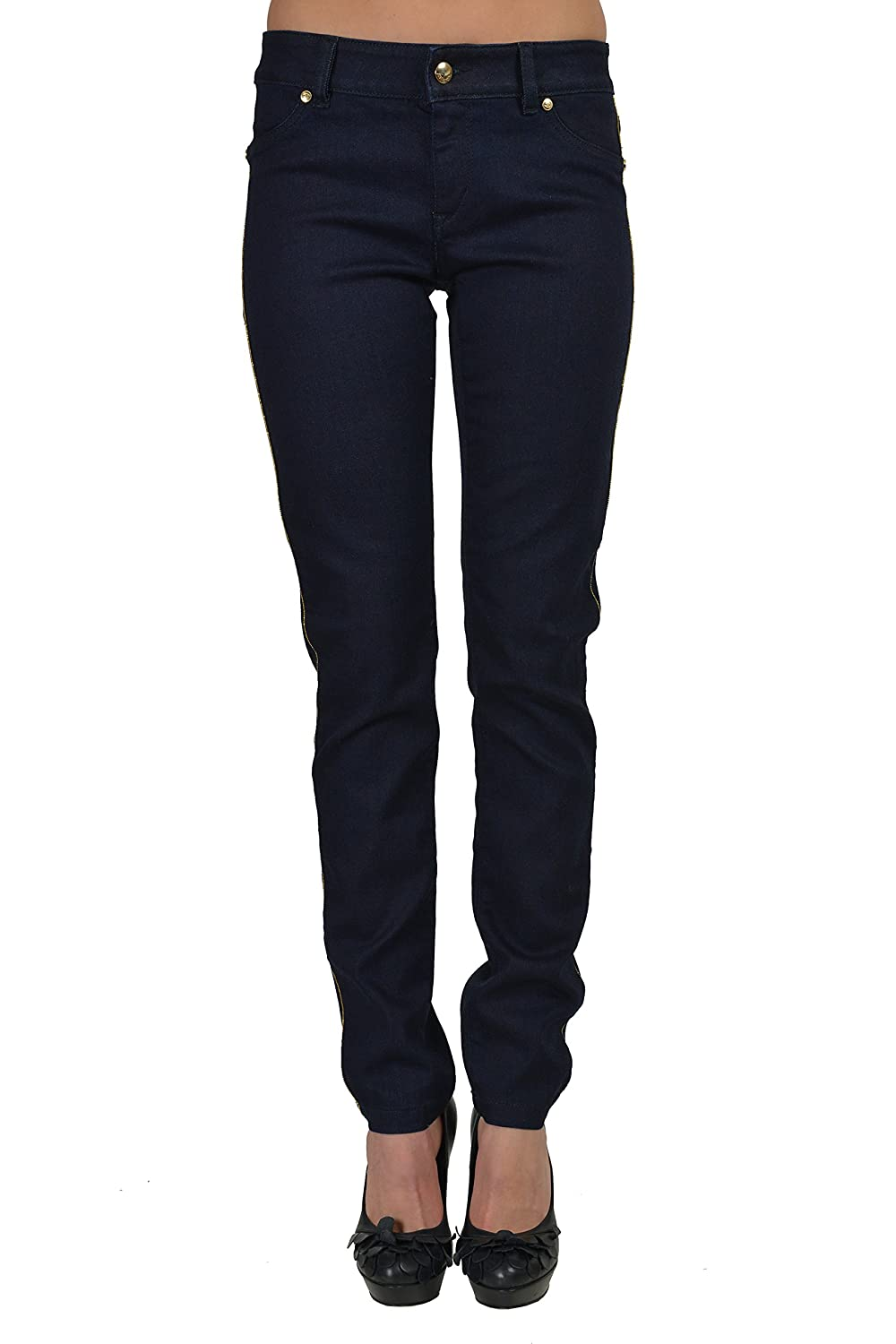 "Just Cavalli ""Chic"" Navy Women's Skinny Jeans US 4 IT 26"