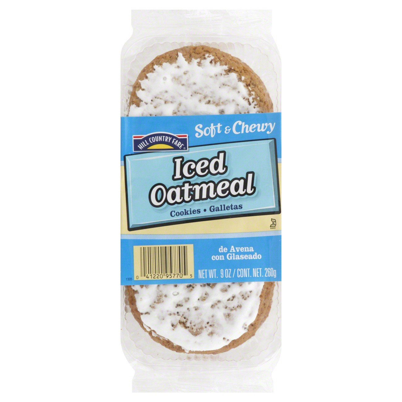 Amazon.com: Country Fare Soft & Chewy Iced Oatmeal Cookies 5/9oz (Pack of 4) + Trident Go Cup Peppermint and Spearmint 1/60 Count(BUNDLE)