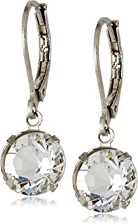 product image for 1928 Jewelry Swarovski Crystal Lever-Back Drop Earrings