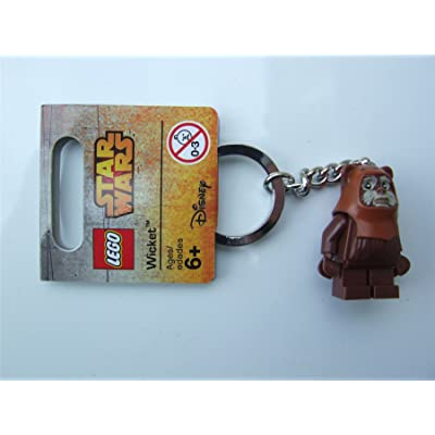 Lego Star Wars Wicket Key Chain: Toys & Games